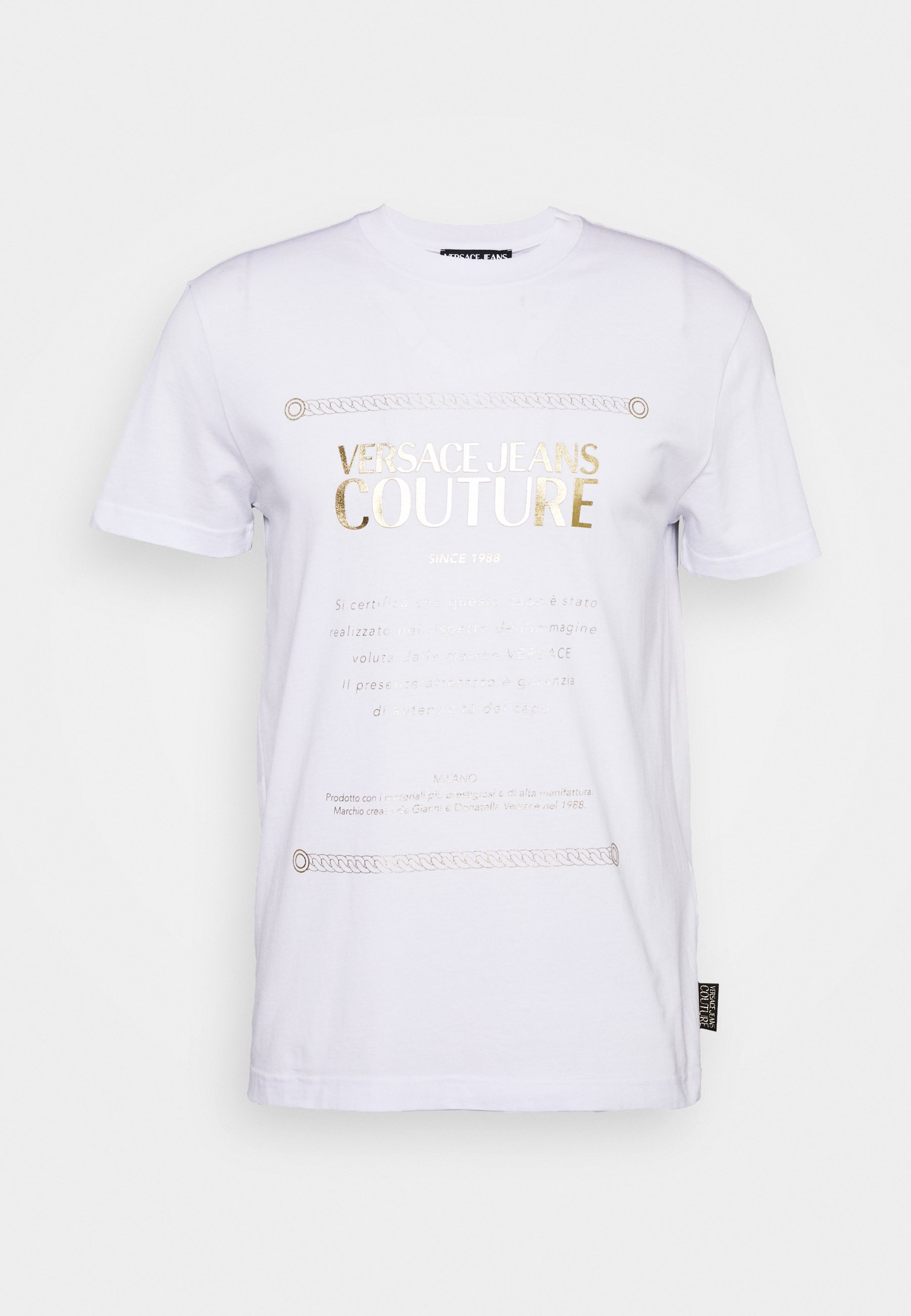 Versace Jeans Couture Mouse - T-shirt Con Stampa Balck kaYzH