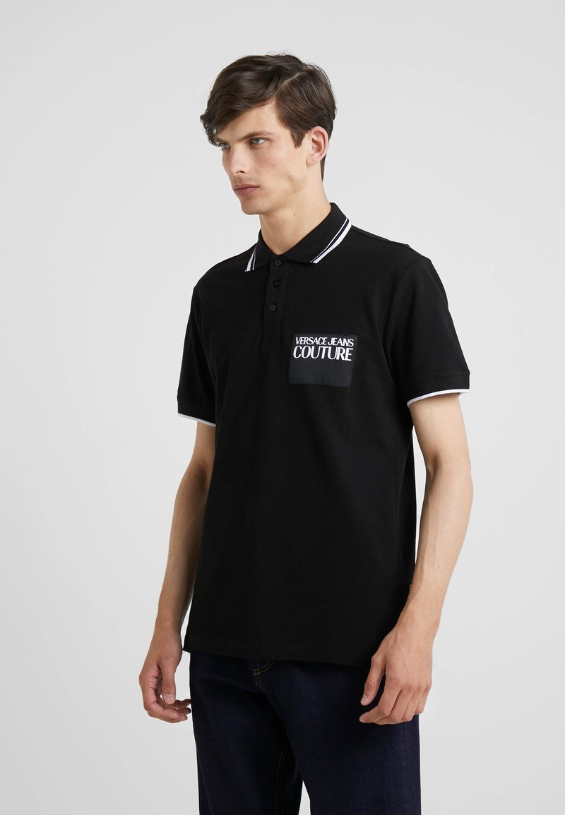 Versace Jeans Couture - Poloshirt - nero