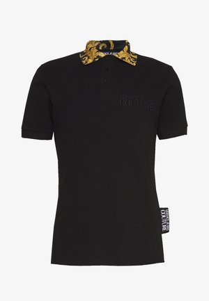 BAROQUE COLLAR WITHOUT THE PATCH - Polo shirt - black
