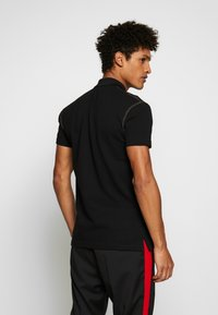 Versace Jeans Couture - ZIP POLO - Koszulka polo - black - 2
