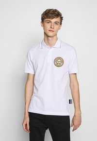 Versace Jeans Couture - EMBROIDERY - Polo - white - 0