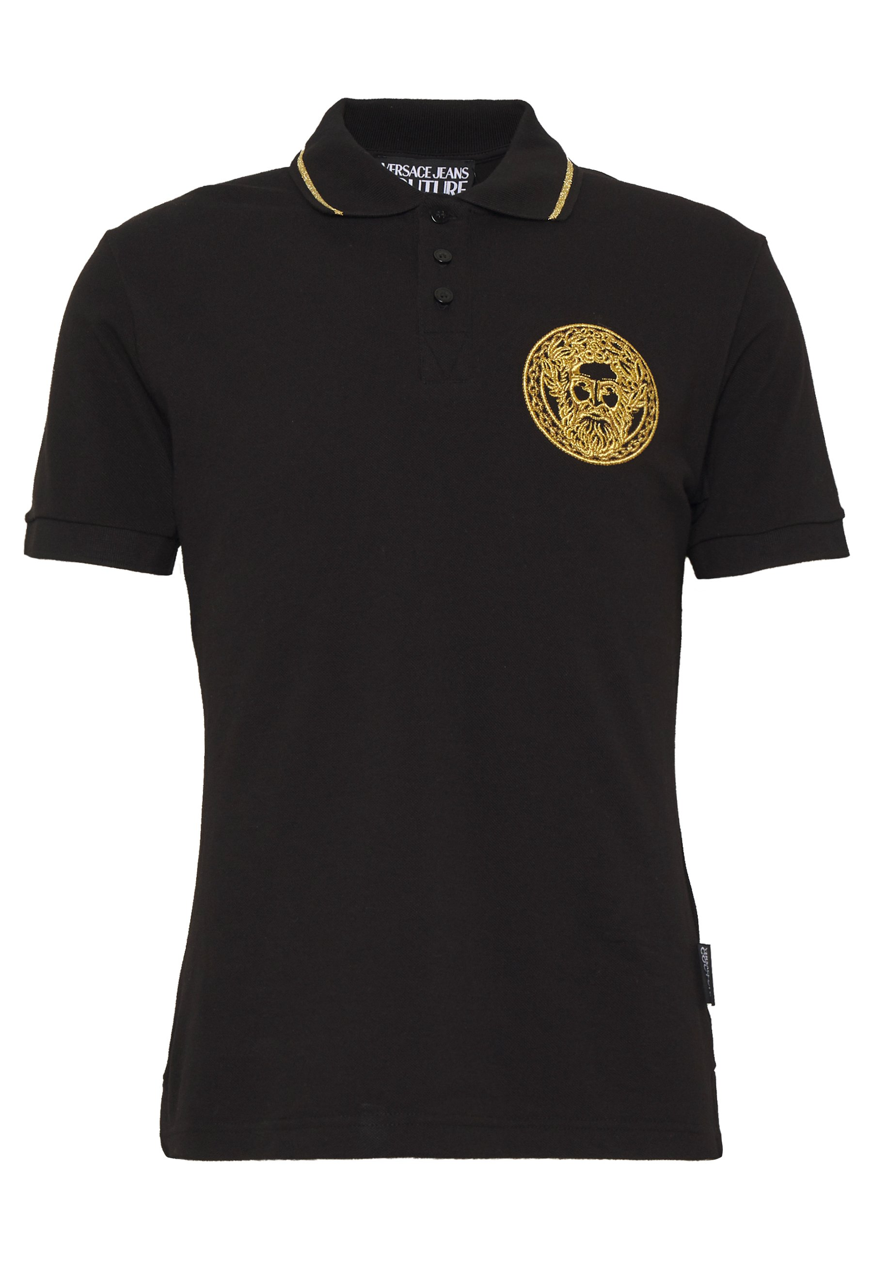 Versace Jeans Couture Embroidery - Polo Black