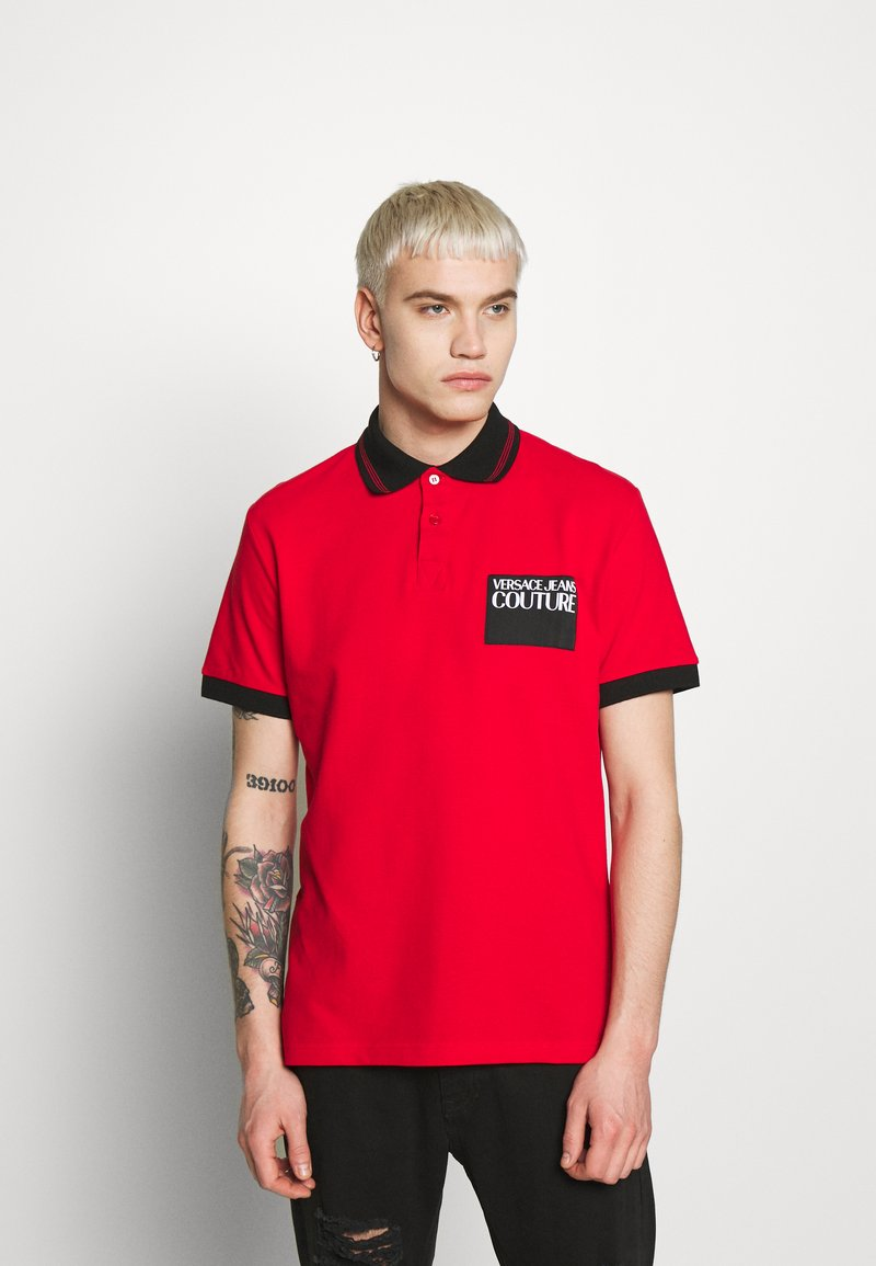 Versace Jeans Couture - PATCH - Poloshirt - red