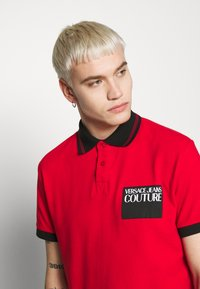 Versace Jeans Couture - PATCH - Poloshirt - red - 4