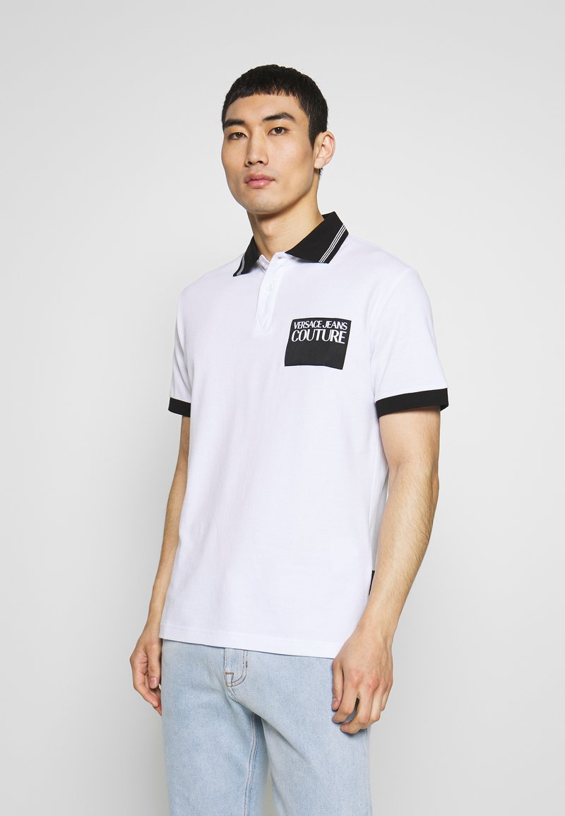 Versace Jeans Couture - PATCH - Poloshirt - white
