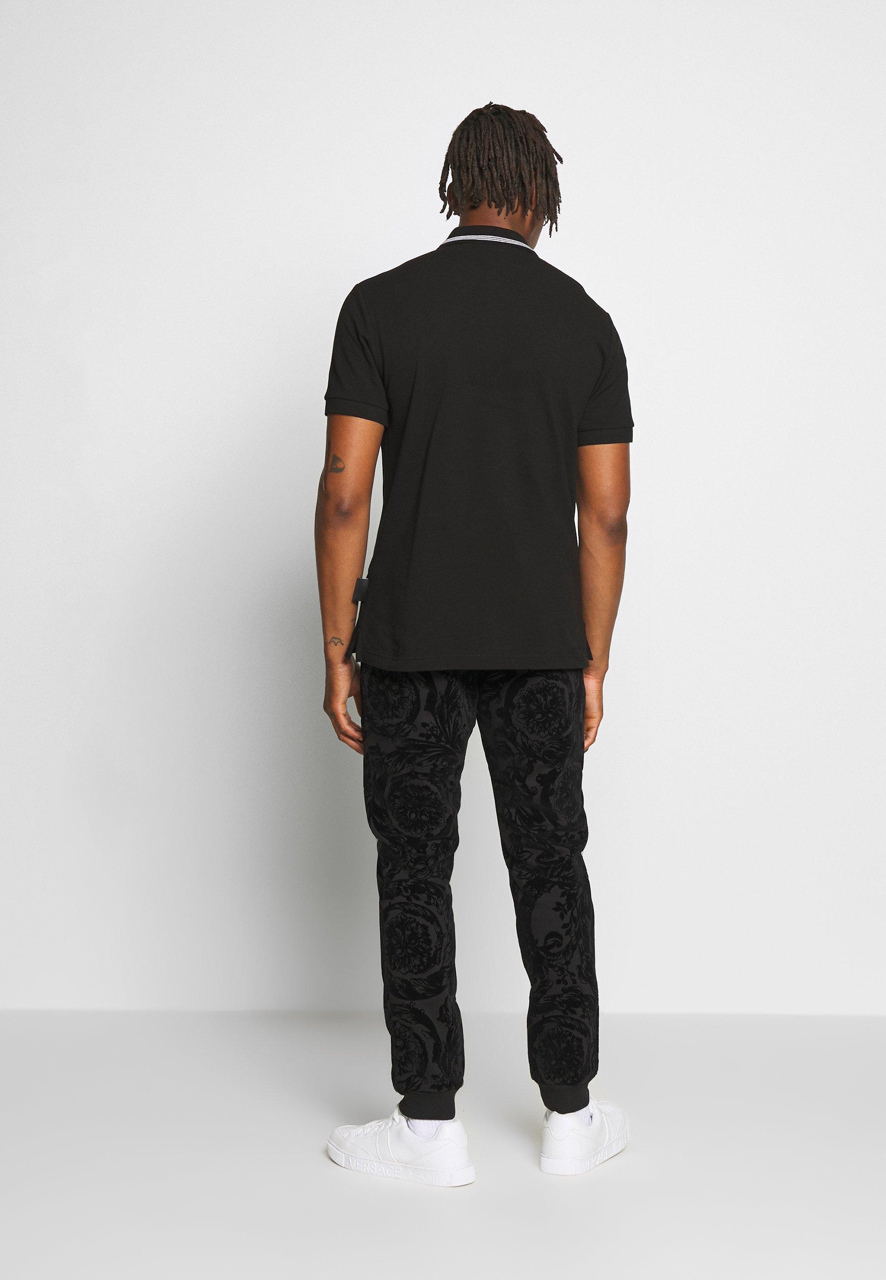 Versace Jeans Couture PATCH - Koszulka polo - black