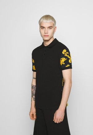 GIOIELLI BACK PRINT - Polo shirt - black