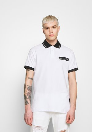 PATCH - Poloshirt - white