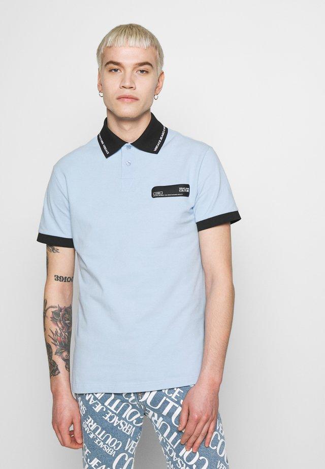 PATCH - Polo shirt - light blue