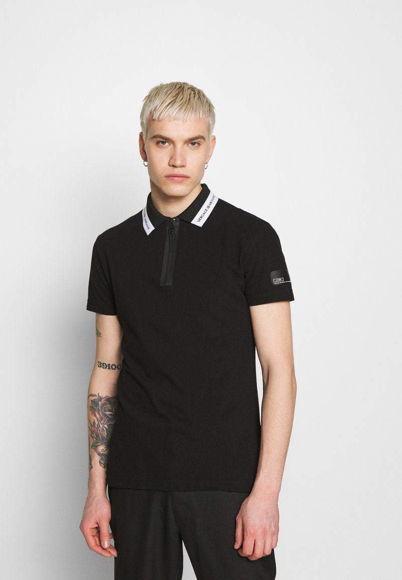 Versace Jeans Couture - ZIP - Koszulka polo - black