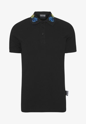 BAROQUE COLLAR MULTI - Koszulka polo - black