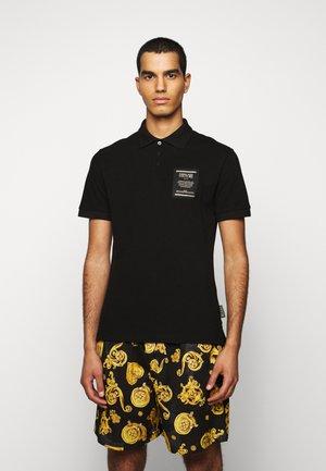 PLAIN - Poloshirt - black