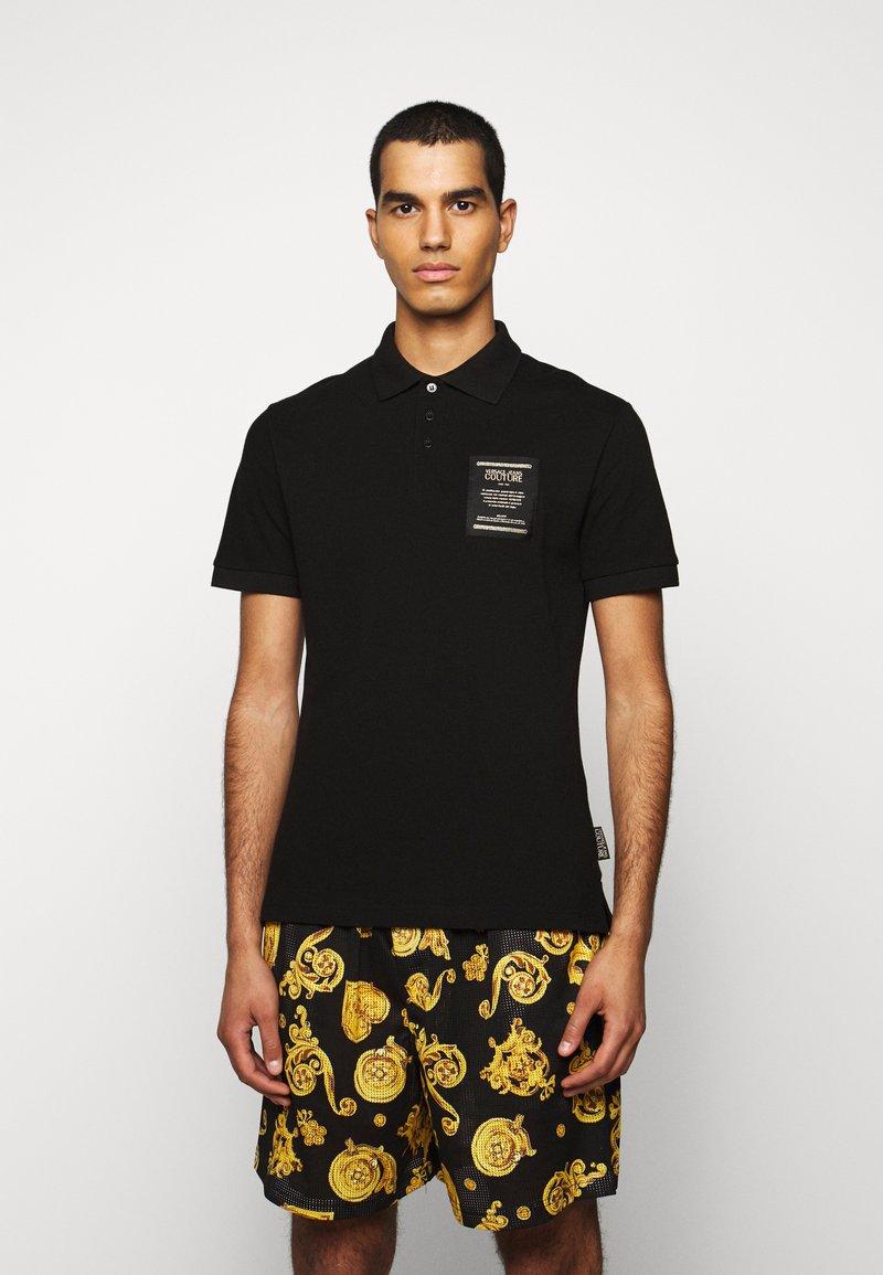 Versace Jeans Couture - PLAIN - Poloshirt - black