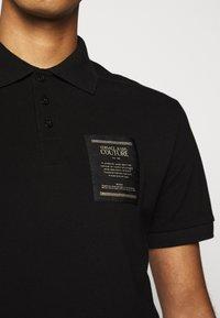Versace Jeans Couture - PLAIN - Polo - black - 4