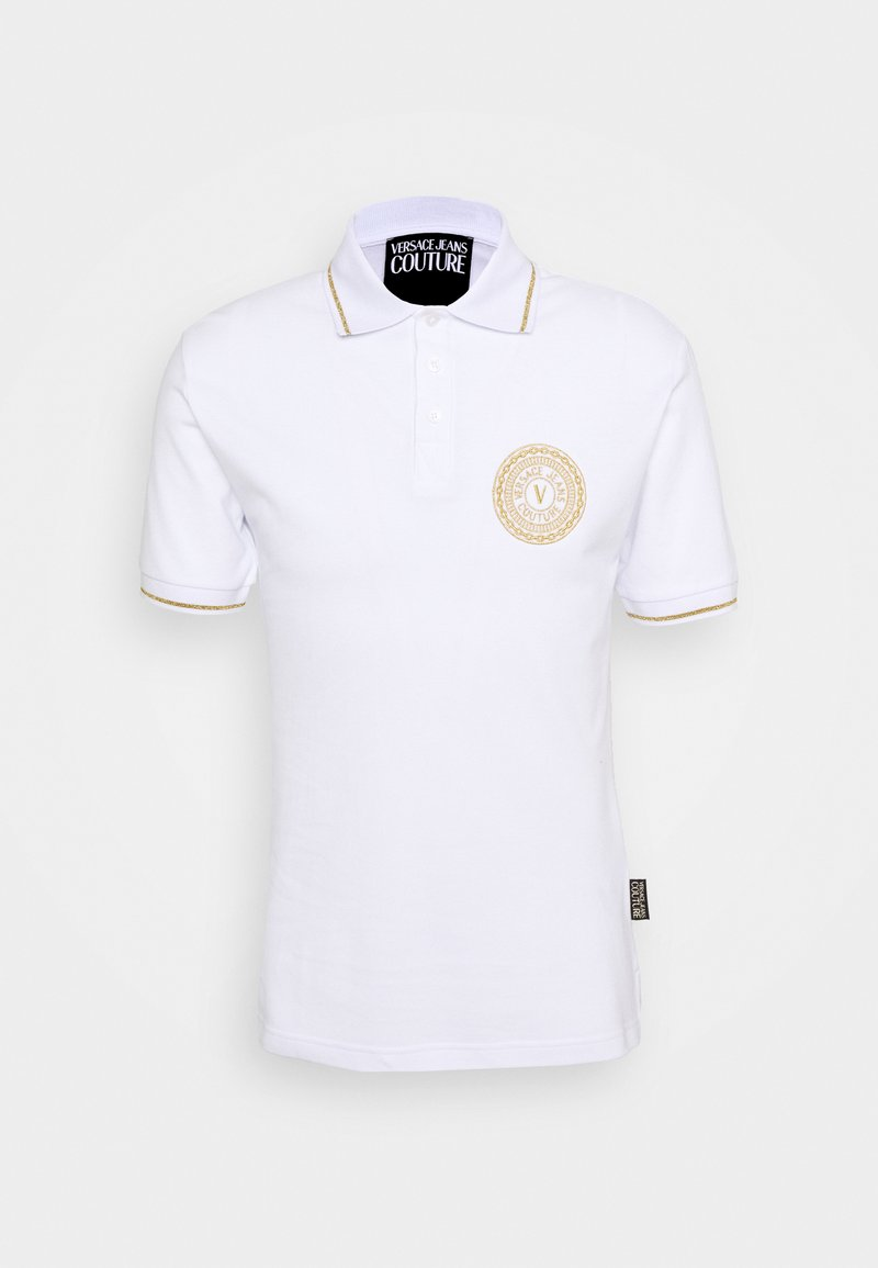 Versace Jeans Couture - ADRIANO LOGO - Poloshirt - bianco