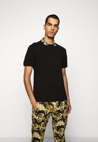 Versace Jeans Couture - PLAIN - Polo - nero - 0