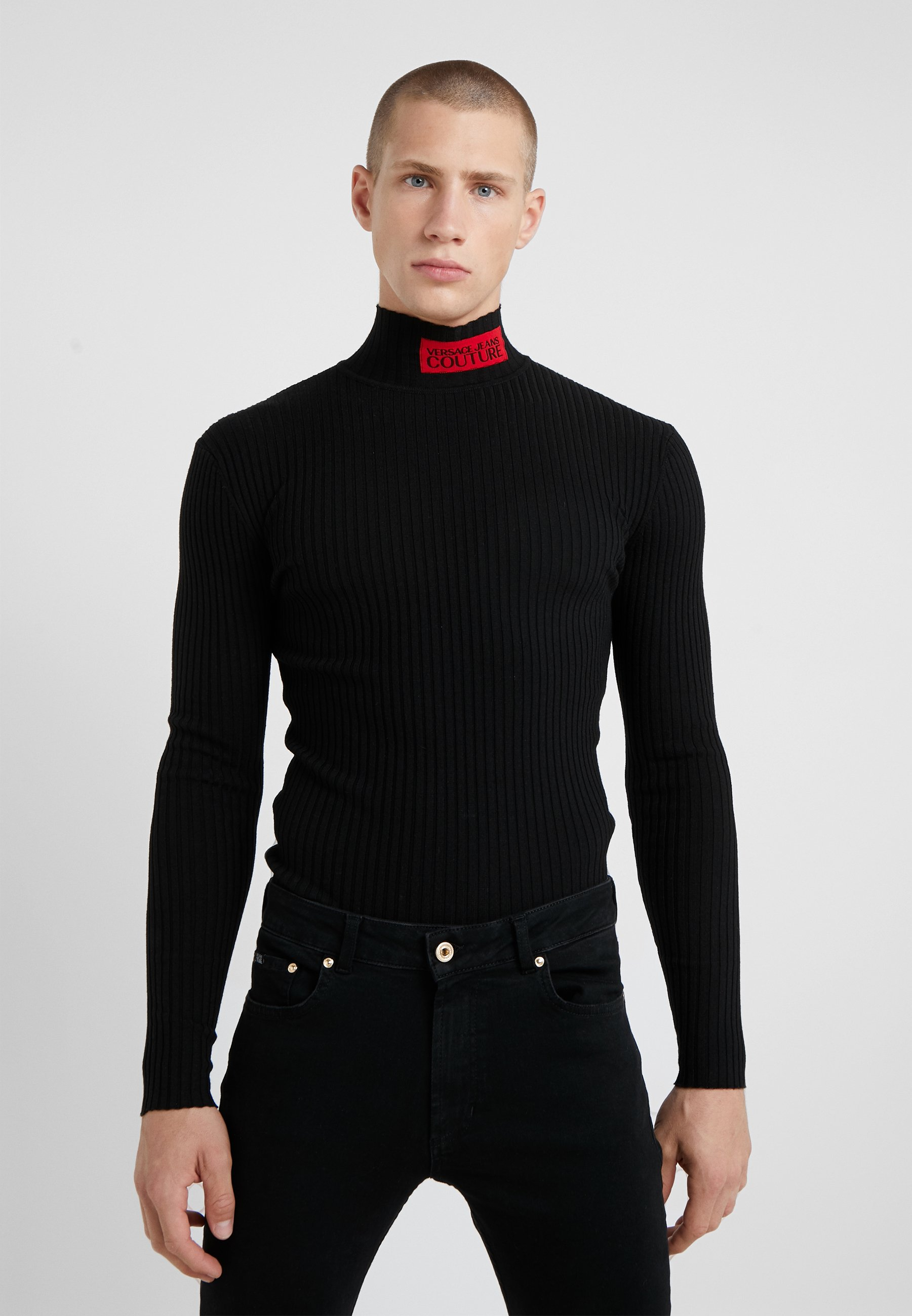 Couture MaglieriaPullover Black Versace MaglieriaPullover Versace Jeans Jeans Couture XwZOilPkuT