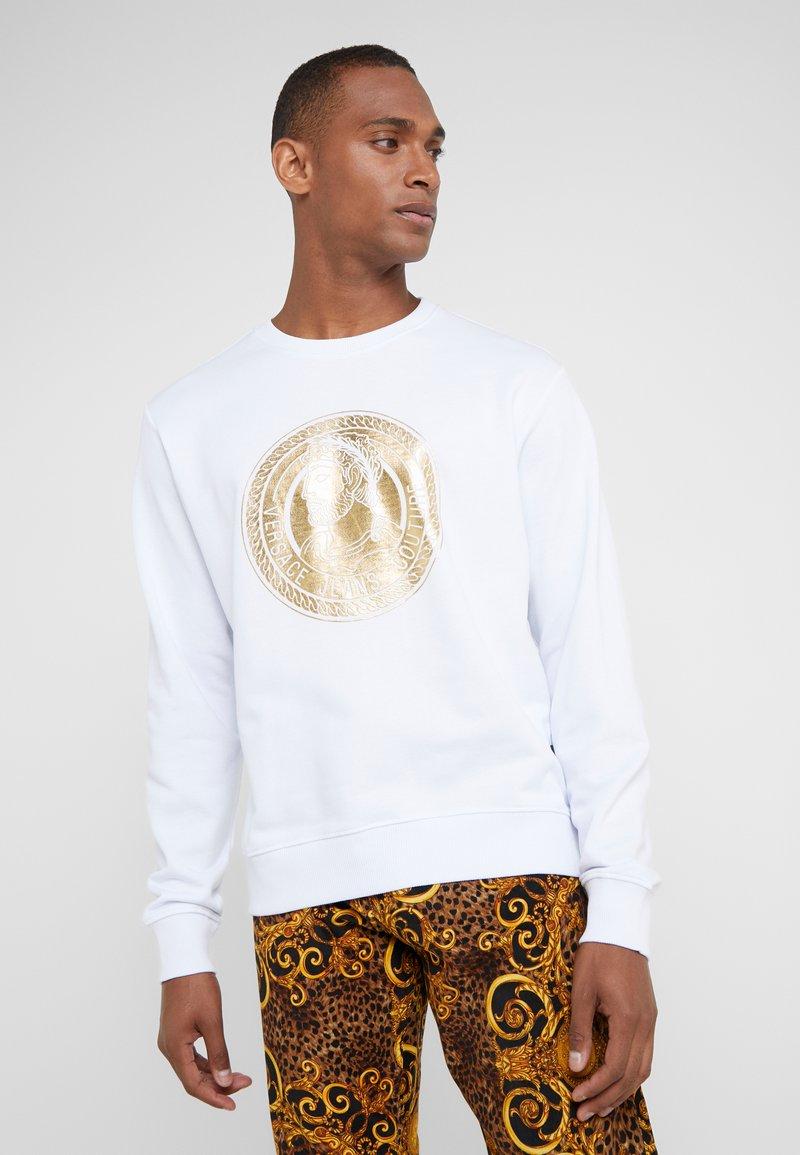 Versace Jeans Couture - FELPE UOMO - Collegepaita - bianco ottico