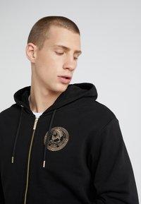 Versace Jeans Couture - FELPE UOMO - Zip-up hoodie - nero - 4