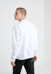 Versace Jeans Couture - FELPE UOMO - Sweatshirt - white - 2