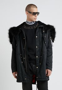Versace Jeans Couture - EMBELLISHED - Mikina - nero - 1