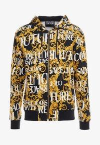 Versace Jeans Couture - ZIP THROUGH HOODIE - Zip-up hoodie - nero - 3