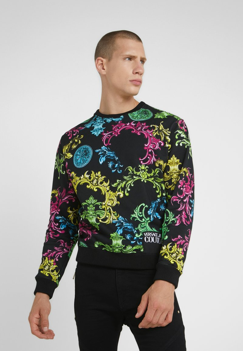 Versace Jeans Couture - COLOR BAROQUE - Sweatshirt - black