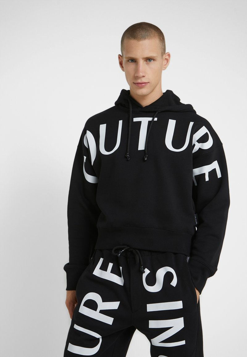 Versace Jeans Couture - HOODIE - Sweat à capuche - black
