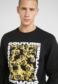 Versace Jeans Couture - LOGO - Sweater - black - 3