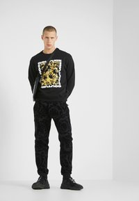 Versace Jeans Couture - LOGO - Sweater - black - 1