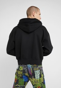 Versace Jeans Couture - EMBROIDERED HOODIE - Hoodie - black - 2
