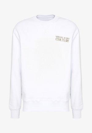 CREW CHEST LOGO - Sweatshirt - white