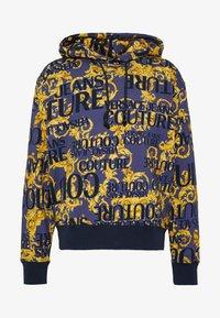 Versace Jeans Couture - Felpa con cappuccio - blue - 3