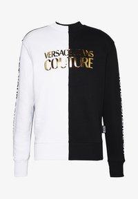 Versace Jeans Couture - CREW BLOCK - Sweater - black - 4