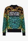 CREW ALLOVER LEO  - Sweatshirt - pure mint
