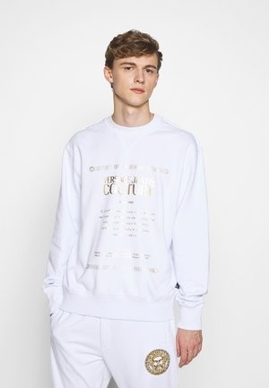 CREW LABEL LOGO - Sweatshirt - white