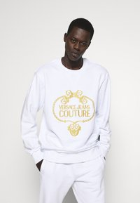 Versace Jeans Couture - CREW - Sweatshirts - white - 0