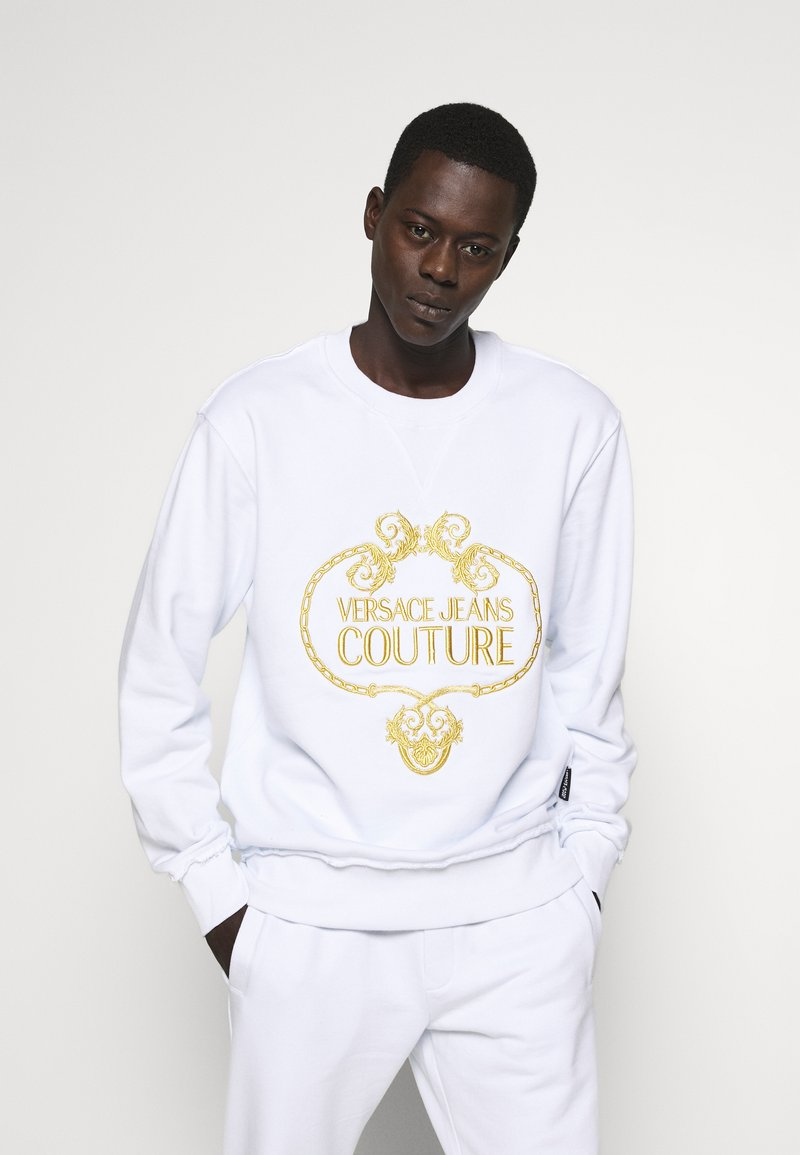 Versace Jeans Couture - CREW - Sweatshirts - white