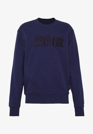 CREW BASIC LOGO EMBROIDERED - Sweatshirts - blue