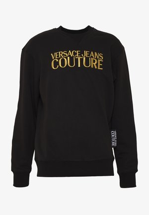 CREW BASIC LOGO EMBROIDERED - Sweatshirt - black