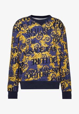 CREW ALLOVER - Sweatshirt - blue