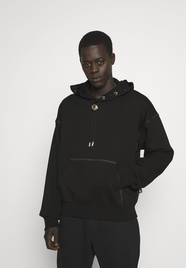 HOODIE RING - Jersey con capucha - black