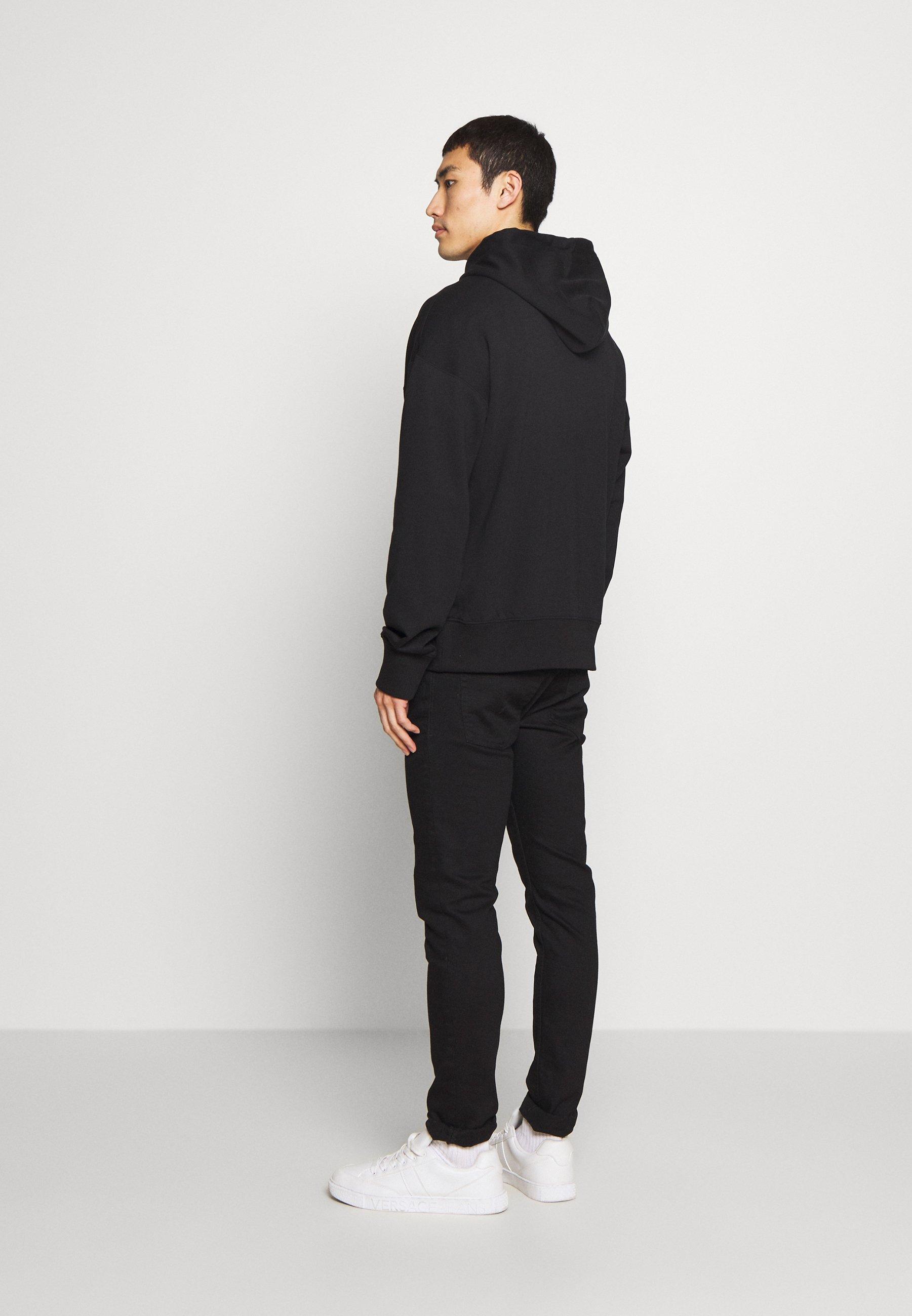Versace Jeans Couture HOODIE LOGO - Felpa con cappuccio - black