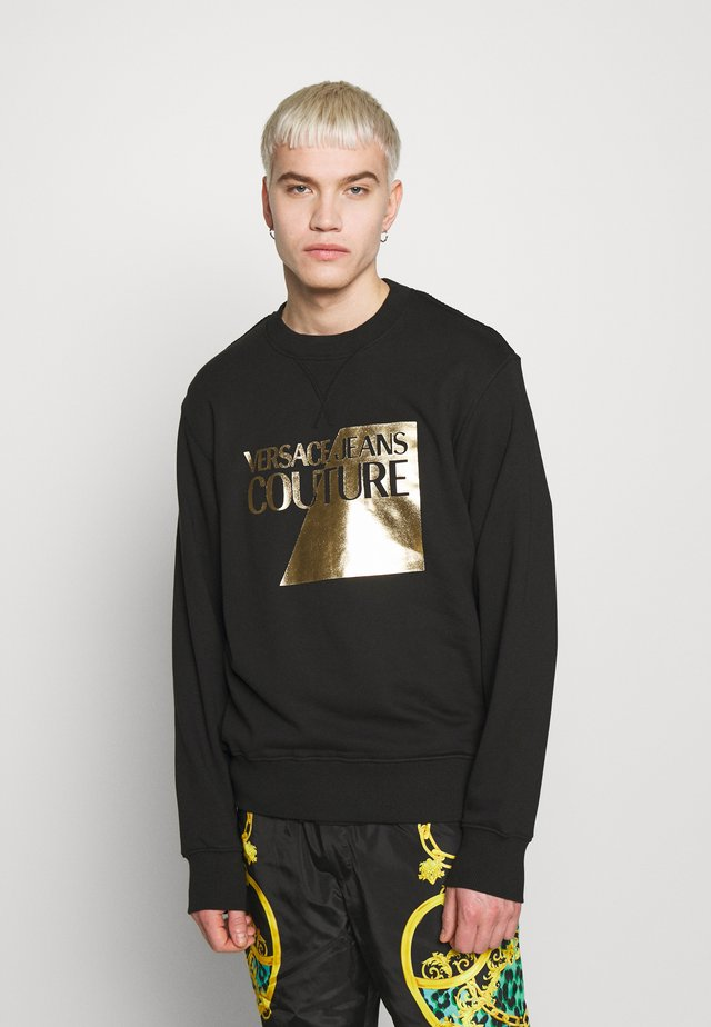 FOIL LOGO - Sweatshirt - black
