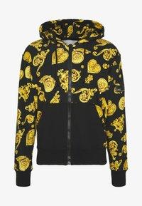 Versace Jeans Couture - ZIP HOODIE GIOIELLI PRINT - Hoodie met rits - black - 3