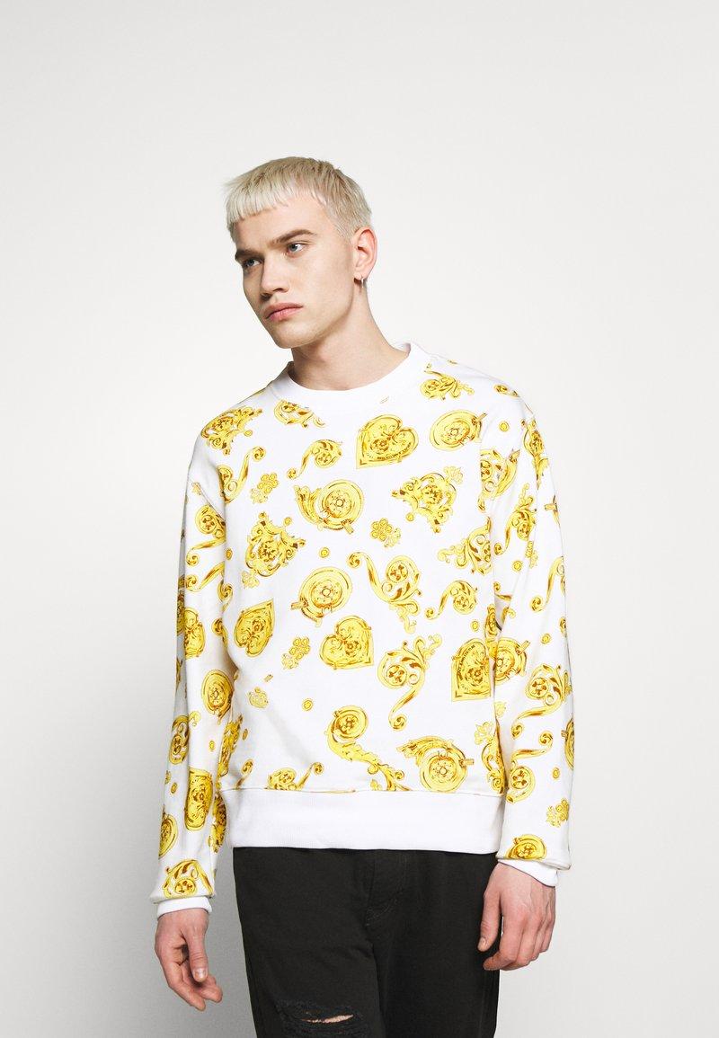 Versace Jeans Couture - GIOIELLI PRINT ALLOVER - Sweatshirt - white