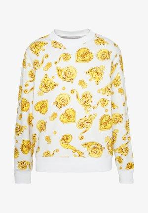 GIOIELLI PRINT ALLOVER - Sweatshirt - white