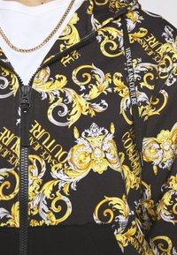 Versace Jeans Couture - Hoodie met rits - nero - 7