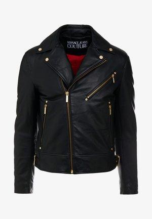 CAPOSPALLA  - Leather jacket - nero