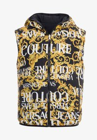 Versace Jeans Couture - REVERSIBLE VEST BAROQUE - Veste sans manches - nero - 4